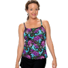 Spaghetti Strap Tankini Top (has adjustable straps)  Comes in sizes 4-20 only